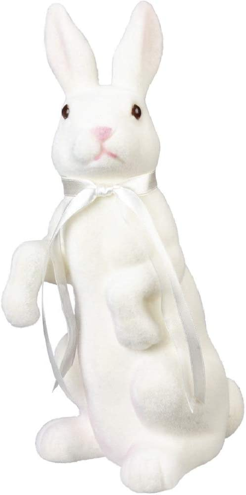 Primitives by Kathy Standing Bunny, White