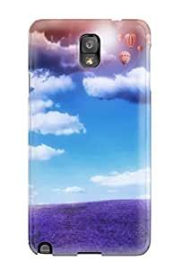New Snap-on ZippyDoritEduard Skin Case Cover Compatible With Galaxy Note 3- Balloon
