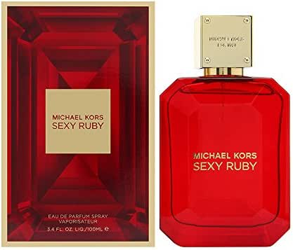 Michael Kors Sexy Ruby Eau de Parfum Spray for Women, 3.4 Ounce
