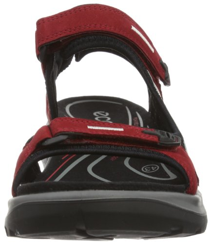 Ecco Damen Offroad Sport-& Outdoor Sandalen Rot (CHILIRED/CONCRETE/BLACK 55287)