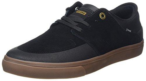 Negro Skateboarding Chase Globe de Adulto Gum Black Unisex Zapatillas Ztqq6WnY