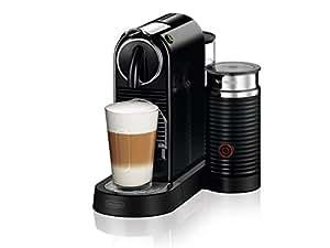 Delonghi Nespresso Citiz & Milk Coffee Machine, Black, EN267BAE