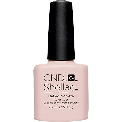 CND Shellac Nail Polish, Naked Naivete, 0.12 lb.