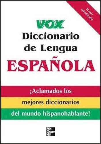 Amazon.com: Vox Diccionario de Lengua Española (VOX ...