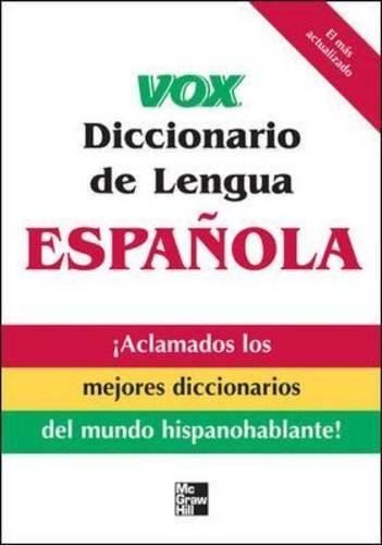 Vox Diccionario de Lengua Española VOX Dictionary Series: Amazon ...