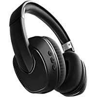 Sharper Image SBT565BK Bluetooth Wireless Noise Cancelling Headphones, Great For Airplanes
