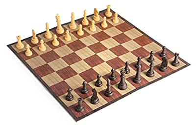 "Travel Chess Set Game Compact Folding Board For Portable Play Anywhere Large 11"" x 11"" Chess Board For Kids And Adults - Ideas In Life"