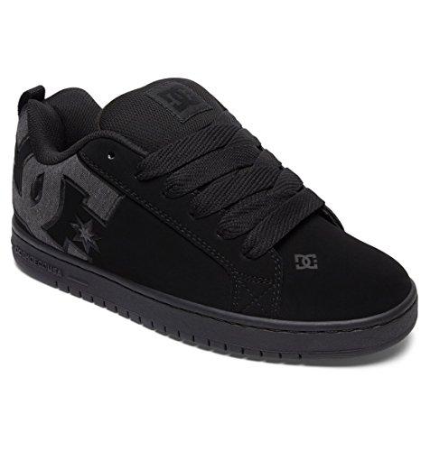Homme Baskets Court Graffik Dc Black Gris S Destroy Mode Shoes Wash 1wFYIxq7H