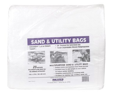 Halsted Sand Bags 15 '' X 27 '' White