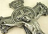 Roman, Inc. Saint Benedict Wall Cross Crucifix