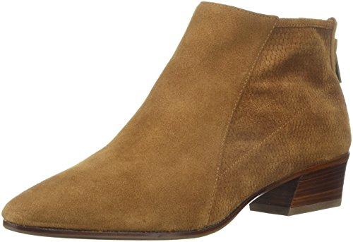 Aquatalia Women's Fianna Perf Suede Ankle Boot, Cognac, 8 M US