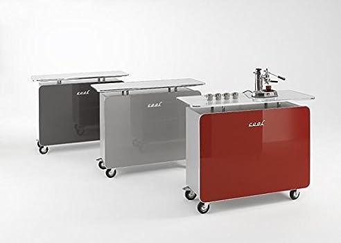 Bartheke Cool Farbe: Rot: Amazon.De: Küche & Haushalt