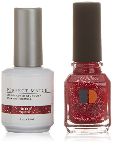 French Perfect Nail (LECHAT Perfect Match Nail Polish, XOXO, 0.500 Ounce)