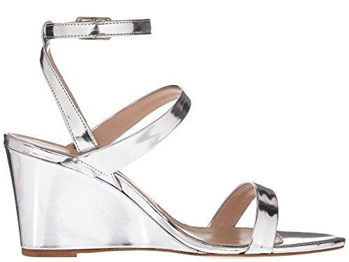 Wedge Silver Sandal David Charles Women's Cassie HT44aq
