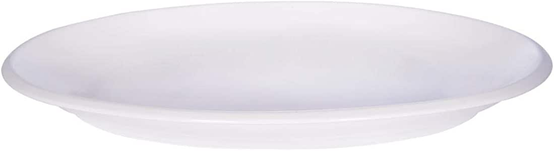 Master Chef Ceramic Oval Serving Plate - 1 Piece