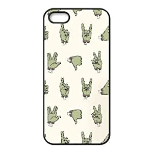 iPhone 5 5s Cell Phone Case Black ZOMBIE HANDS GY9261129