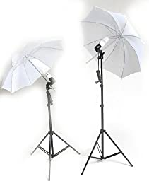 ePhoto ULS69 Continuous Lighting Kit with 3 Muslins