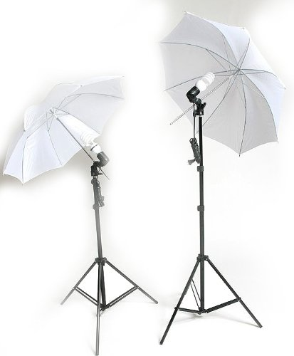 Ephoto Photography Video - ePhoto 2 Video Photography Studio Continuous Lighting Kits Two FREE 45w 5500k Day Light Fluorescent Photo Light Bulbs by ePhoto INC DK2