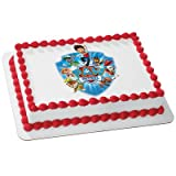 Whimsical Practicality Paw Patrol Yelp for Help Edible Cake Icing Image for 8'' Round Cake, 7.5'' Round Sheet