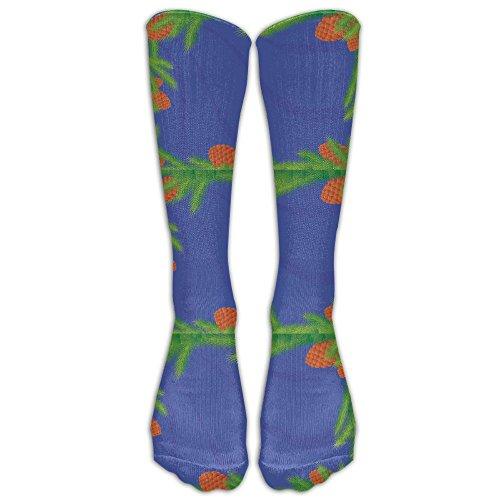 Pinecone Tube (Girl's Conifer Pinecone Tube Stocking Casual Socks Trouser Calf High Athletic Socks)