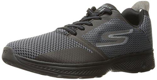 Noir Noir Homme Walk Go black Running gray Skechers elect Chaussures 4 gris De vgx5pw