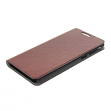 Amazon.com: LIKESEA [Brown] Stylish Magnetic Closure Wallet ...