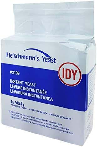 Yeast: Fleischmann's Instant Dry Yeast