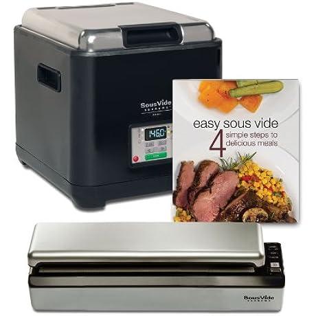 SousVide Supreme Demi Water Oven System 9 Liter Black PSV 00180