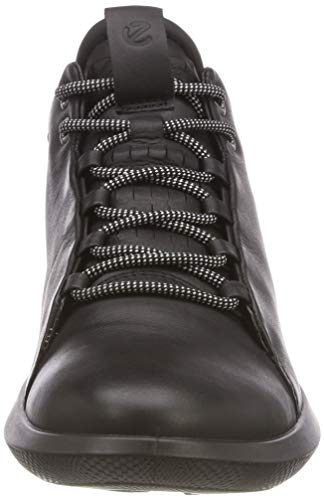 Black Sneaker Alto ECCO Nero 1001 a Collo 450573 Donna B6x6q7