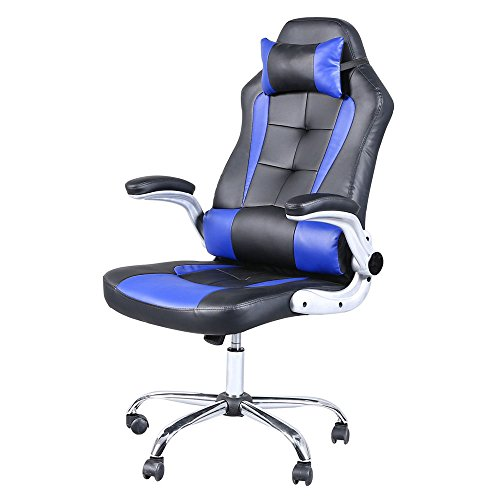 Video Game Chair,Home Office Chair C-Shaped Wheelchair High-back ...