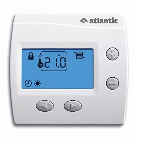 thermostat d'ambiance - digital atlantic domocable - 109519 128