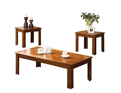 (Riverside Oak Coffee & End Table Set)