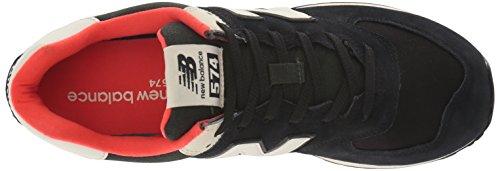 Baskets Balance Ml574v2 Black New Homme Flame RPBpvE