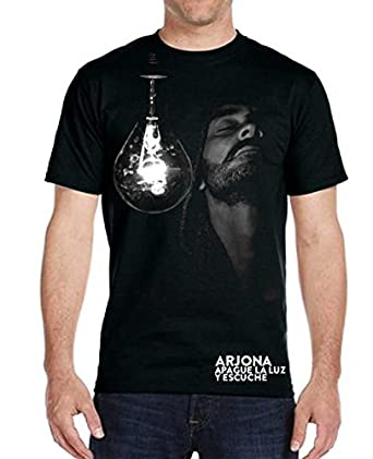 Ricardo Arjona Official Merch Mens T-Shirt SU MENESTER Camiseta de Hombre Colección Apague la