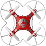 Pocket Drone Ready to Fly 6Axis Gyro Drone Quadcopter With Switchable Controller RTF (Red)