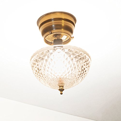 evelots ceiling clip on diamond cut acrylic dome light shade bulb fixture