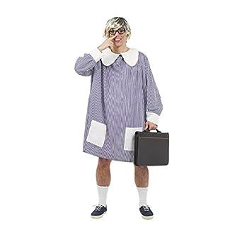 Disfraz bata de colegial. Talla 50/52.: Amazon.es: Ropa y accesorios
