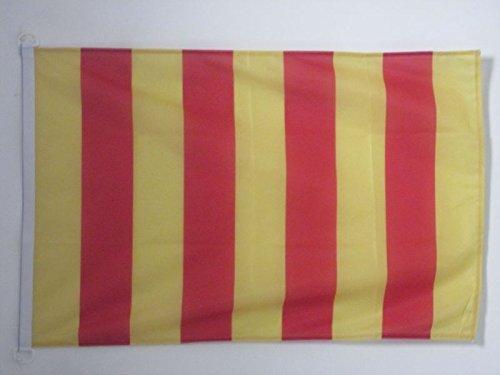 Drapeau de Bateau proven/çal 30 x 45 cm AZ FLAG Pavillon Nautique Comt/é de Provence 45x30cm