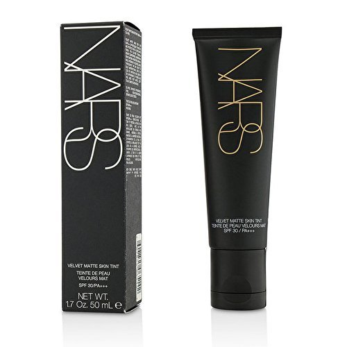 NARS Velvet Matte Skin Tint in Groenland - Light 3 Light/Medium with Neutral Peachy Pink Undertone - Full Size 1.7 ounces (Original - Sans SPF)