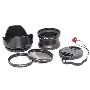 JJC LX5K - Kit de 6 objetivos para Panasonic Lumix DMC-LX5