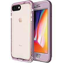 LifeProof NÜÜD Series Waterproof Case iPhone 8 Plus (ONLY) - Retail Packaging - Morning Glory (WHINSOME Orchid/Smoky Grape)