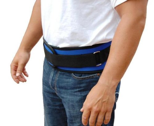 Back Support Belt - Size Large 36 - 42'' - Blue