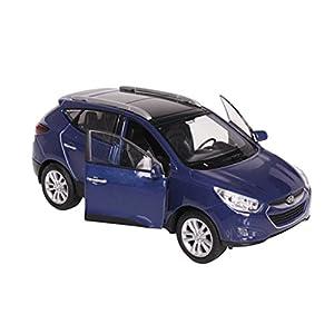 Hyundai Tucson Ix Enchanting Utility 1:38 Scale mini Car-Blue