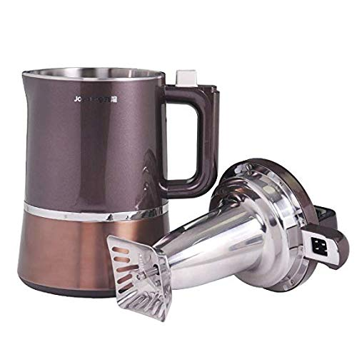 Stainless Steel Soy Milk Maker - Joyoung Soy Milk Maker New Model DJ13U-D988SG(Updated from DJ13M-D988SG) With Delay Timer, No Filter