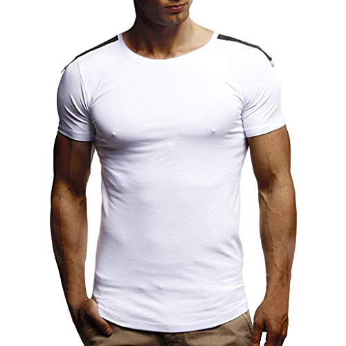iHPH7 t-Shirt Men,Blouse Man,Shirt Men,Long Sleeve t-Shirt Men,Pullover Hoodie Men,Sweatshirt Men,Man t Shirts,Tops Men,Man Hoodie,Man Shirt, Man Hoodie,Macho Man Shirt S 3- White ()