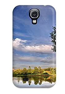 Awesome Design Earth Landscape Hard Case Cover For Galaxy S4