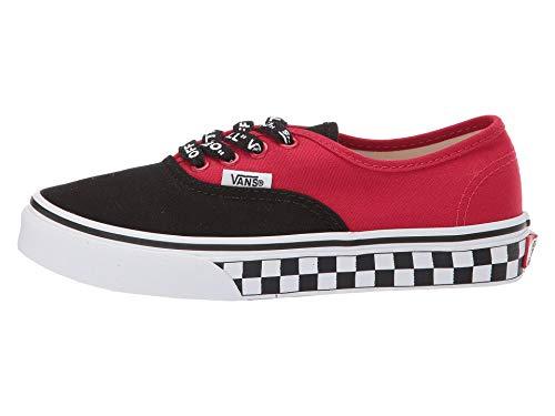 Vans Kids K Authentic Logo POP Black True White Size 12.5