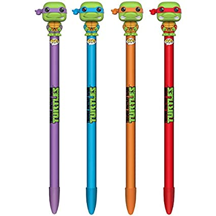 Pen Toppers Colección Pluma con Topper - Teenage Mutant ...