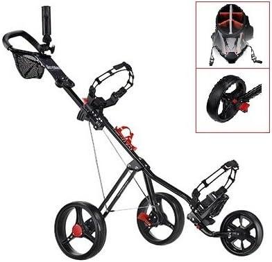 Amazon.com : Caddytek - Superlite Deluxe Golf Push Cart ...