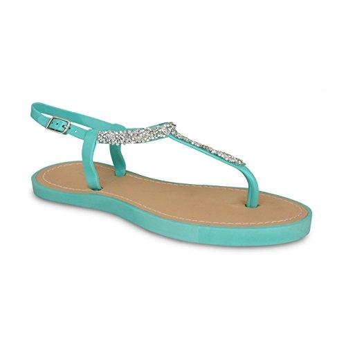 Footwear Sensation - Sandalias para mujer - 821-Green